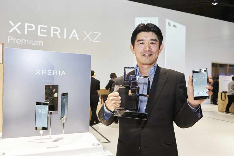Tsutomu Sato, Director of Global Product Marketing, Sony Mobile Communications