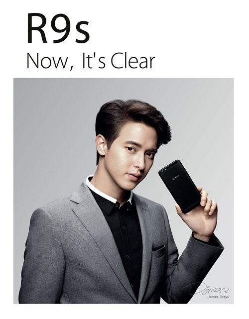 เจมส์ จิรายุ ตั้งศรีสุข รับตำแหน่งพรีเซ็นเตอร์คนล่าสุด ของ OPPO R9s Black Edition