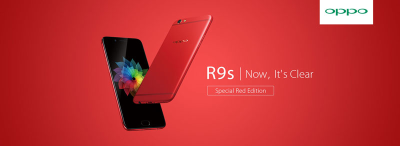 OPPO R9s Special Red Edition