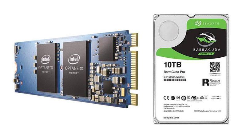 SEAGATE BarraCuda จับคู่ Intel Optane Memory