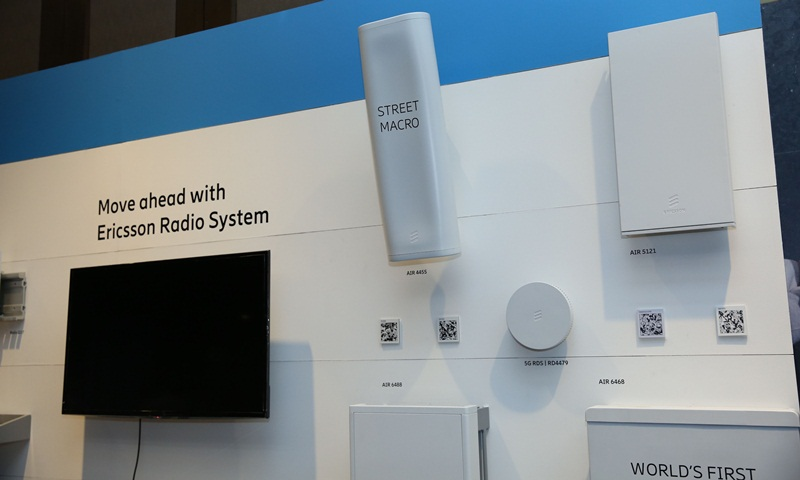 """""""Street Macro"""" ผลิตภัณฑ์เครือข่ายรับส่งสัญญาณวิทยุรุ่นใหม่จากอีริคสัน"""