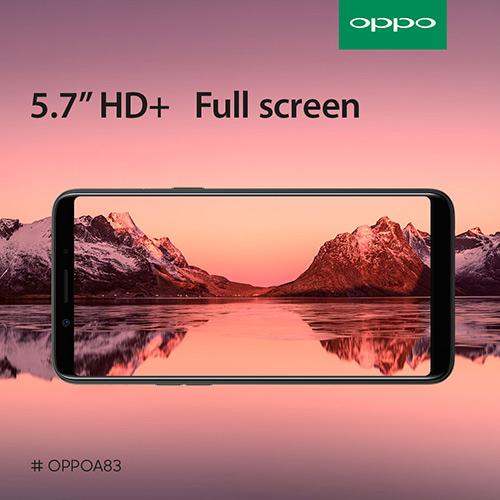 Oppo A83 สมาร์ทโฟนเซลฟี่สวย ราคาเบาๆ วางขายแล้ว 4,990 บาท