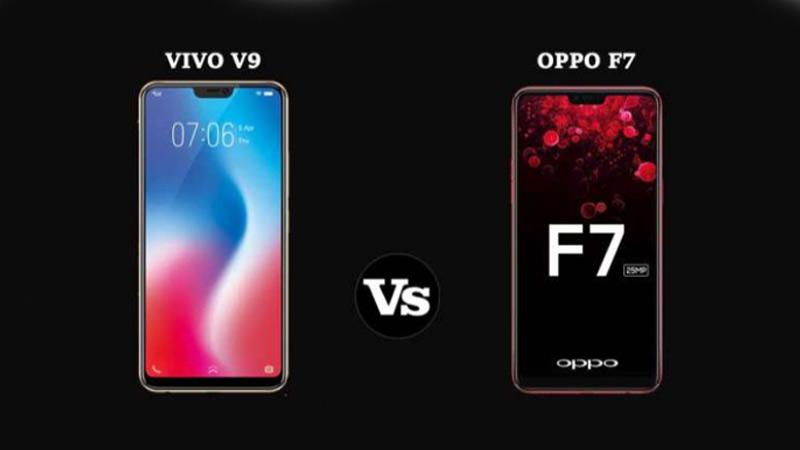 Vivo V9 VS Oppo F7 โทรศัพท์มือถือจาก 2 ค่ายดัง รุ่นไหนคุ้มกว่า?