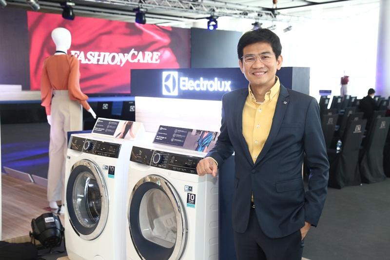 """อีเลคโทรลักซ์ เปิดตัวเครื่องซักผ้าฝาหน้ารุ่นใหม่ล่าสุด  """"อัลติเมทแคร์900"""" (Electrolux UltimateCare™900)"""
