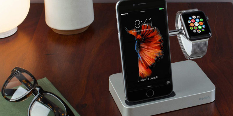 belkin iphone 7 apple watch charger