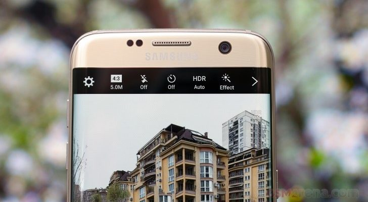 กล้องหน้า Samsung Galaxy S8